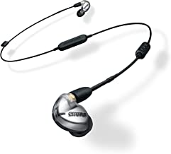 Shure SE425-V+BT1 Wireless Sound Isolating Earphones with Bluetooth Enabled Communication Cable, Silver