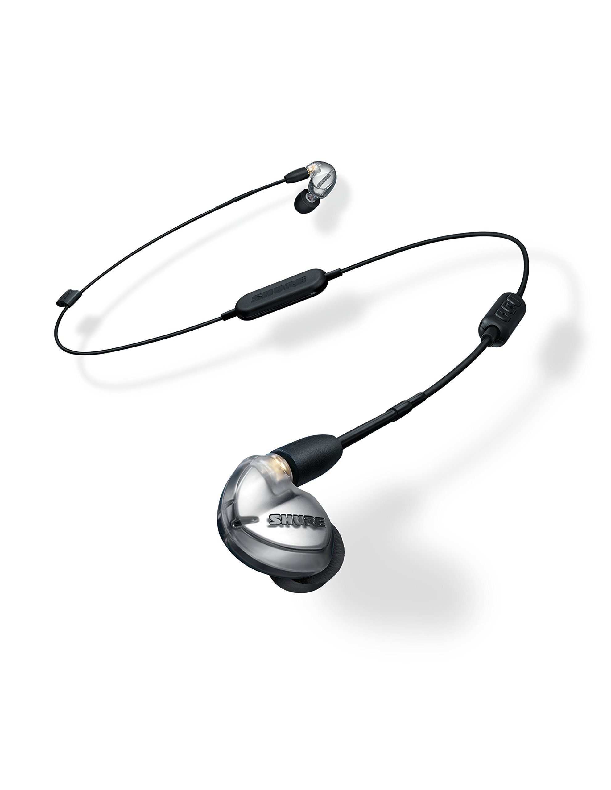 슈어 SE425-V+BT1 무선 이어폰 Shure SE425-V+BT1 Wireless Sound Isolating Earphones with Bluetooth Enabled Communication Cable, Silver