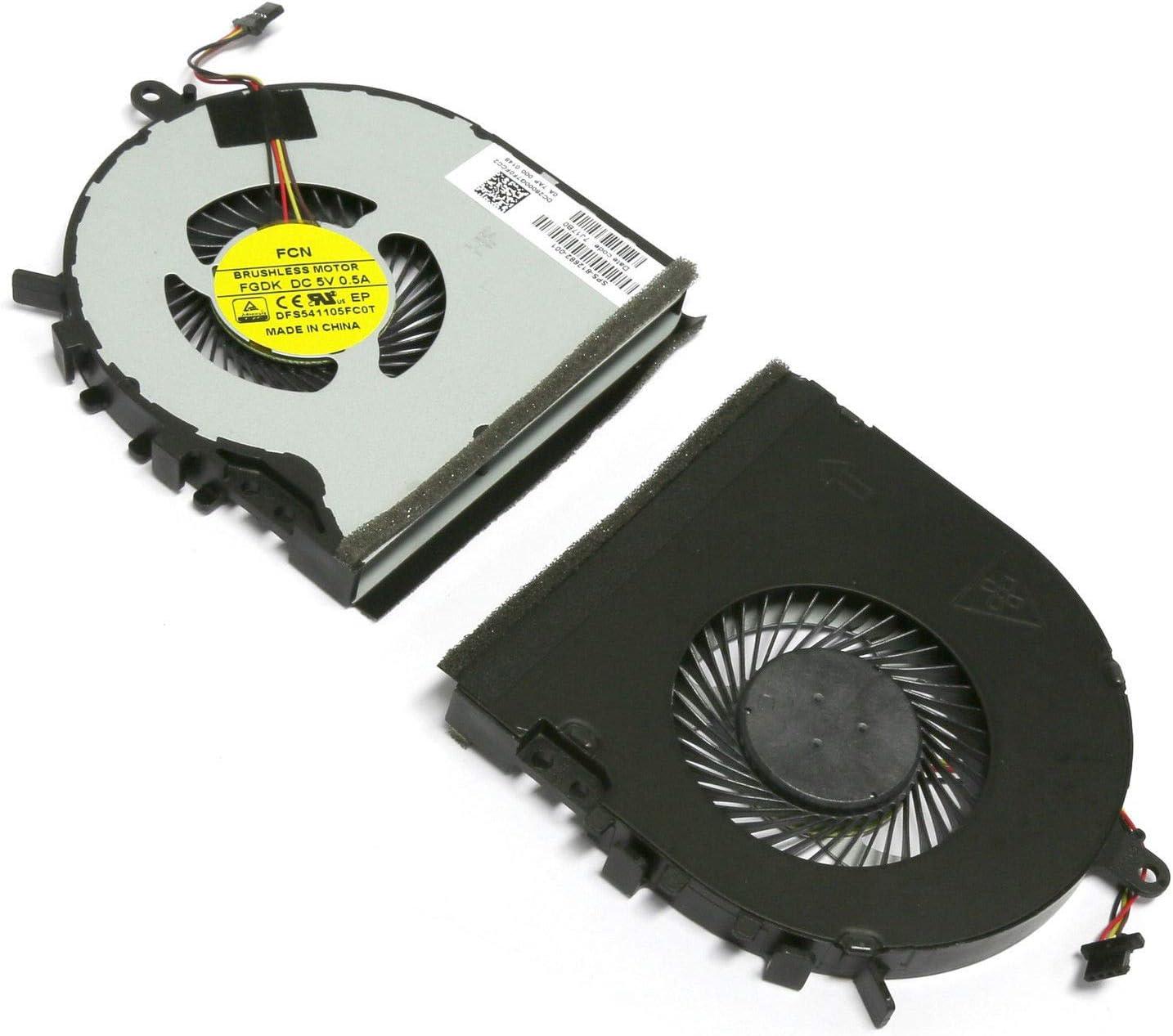 New Laptop CPU Cooling Fan for HP Envy M6-P100 M6-P000 M6-P113DX M6-P114DX 812682-001 EF75070S1-C390-S9A
