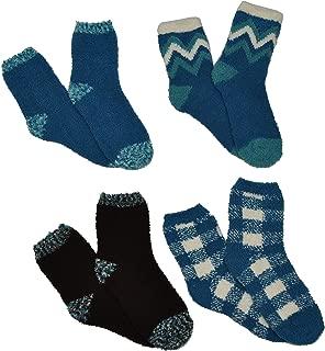 Cozy Socks Women Soft Fuzzy Spa Crew Socks - Ladies Apparel & Accessories - Fits Shoe Size: 4-10 (Ladies)