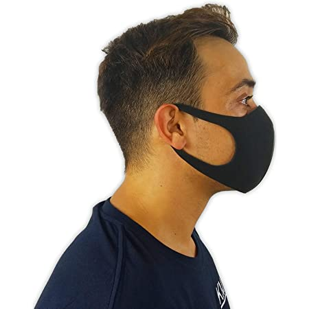 Masque Visage Lavable UK Réutilisable Respirant Shield Complet Housse Protection