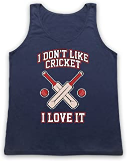 My Icon Men's I Don't Like Cricket I Love It Tank Top Vest