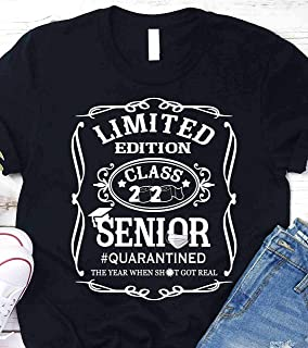Limited Editiion Class Of 2020 Senior Quarantined Shirt - Handmade T-Shirt - Hoodie - Long Sleeve - Sweatshirt For Women Men (4)