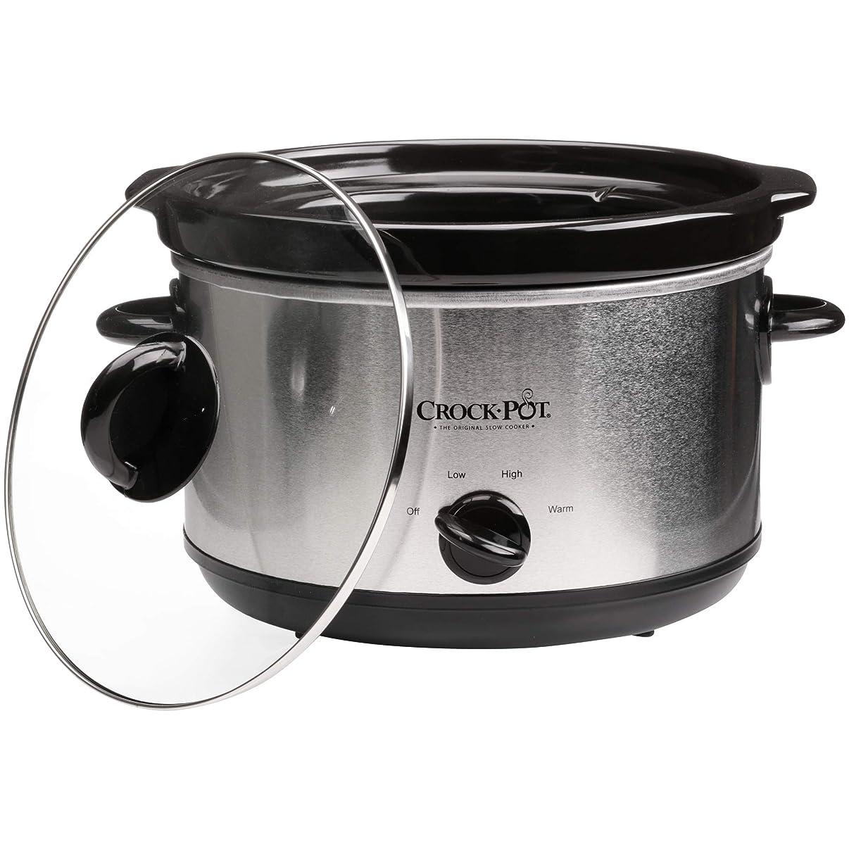 Original Slow Crock-Pot Cooker Stainless 5-Qt