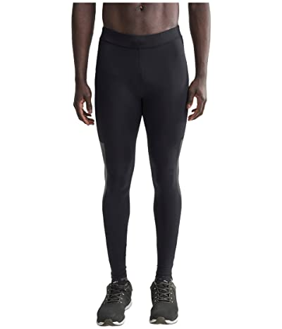 Craft Lumen Urban Run Tights (Black/Silver) Men