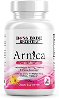 Boss Babe Recovery Arnica Montana Capsules (30 Count)