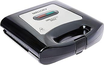 Sanduicheira Mallory Grill Max Inox 127v Preto