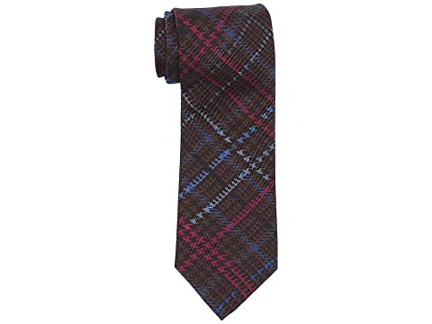 Etro 8 cm Houndstooth Plaid Tie