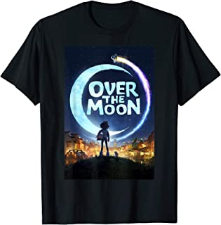 Over The Moon Poster T-Shirt
