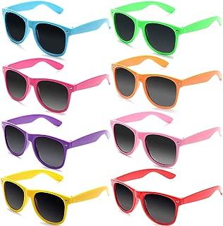 Gafas de Sol Vintage Retro Colores de Neon Gafas de Fiesta para Mujer Hombre