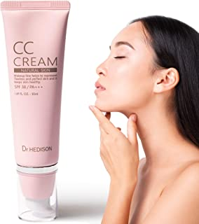 Crema CC Cream - Producto Premium - Crema Coreana - Hidratante - Factor Protector Solar Facial - Prebase Maquillaje - Unif...