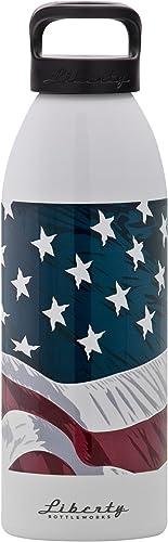 Liberty Liberté W.o.w. Drapeau Bouteille d'eau (Pure)