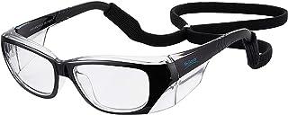 عینک ایمنی برای کار ، فشار و خستگی چشم را کاهش می دهد ، محافظت در برابر اشعه ماوراء بنفش ، پوشش ضد مه شفاف لنزهای ضد خراشیده قطبیزه ANSI Z87.1 و CSA Z94.3 برای زن و مرد سیاه