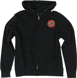 Mens Classic Dot Hoody Zip Sweatshirt