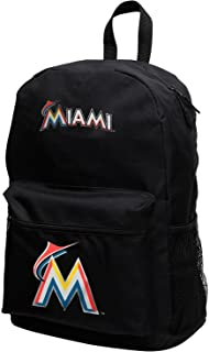 MLB Miami Marlins Sprint Backpack, 18-inches