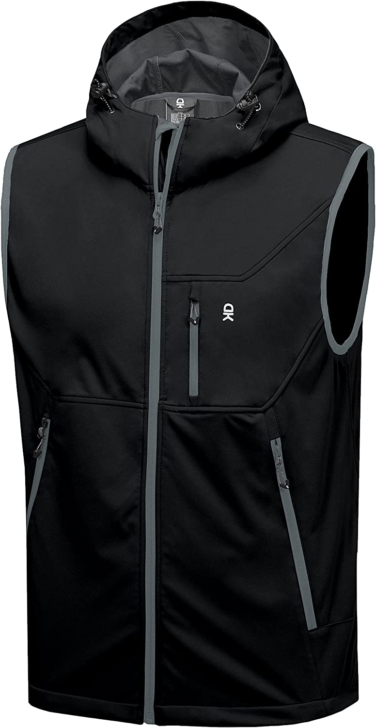 Max 51% OFF Little Donkey Andy Men's Lightweight Online limited product Vest S Windproof Softshell