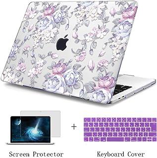 TwoL MacBook Pro Retina ケース 13.3 インチ 高品質シェルカバー 3点セット MacBook Pro 13 (2011-2015) ハードケース シェルカバー & シリコン日本語キーボードカバー & スクリーン保護フ...