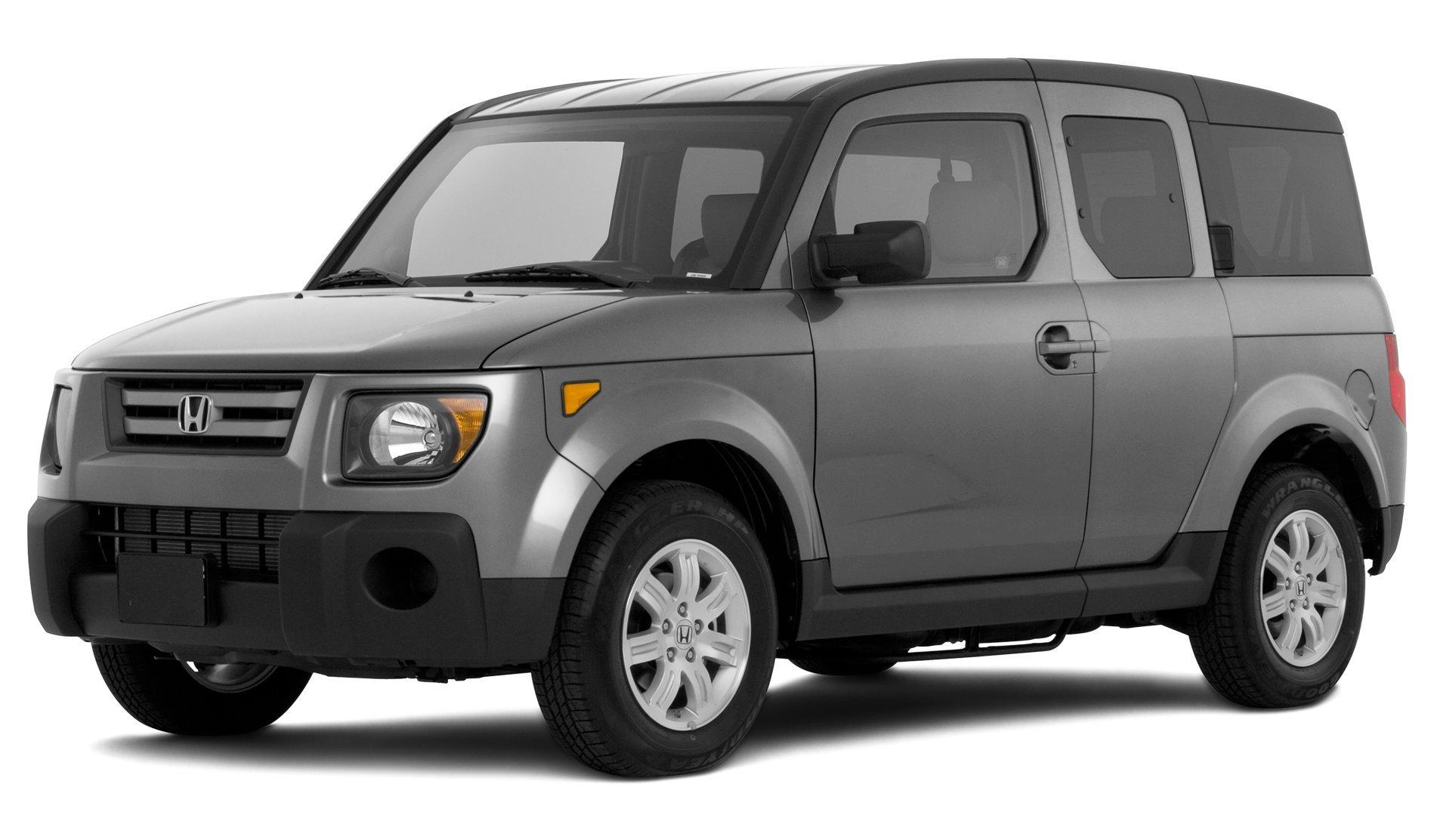 2008 Honda Element EX, 2-Wheel Drive 5-Door Automatic Transmission
