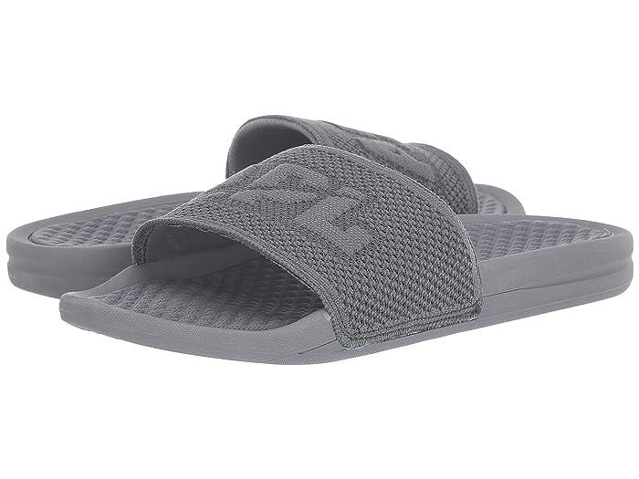 Athletic Propulsion Labs (APL)  Big Logo Techloom Slide (Cosmic Grey) Mens Slide Shoes