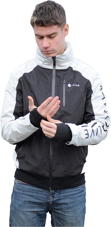 ITINE Travel Virginia Beach Mall jacket Unisex Hoodie Topics on TV Eye zippers YKK mas Gloves