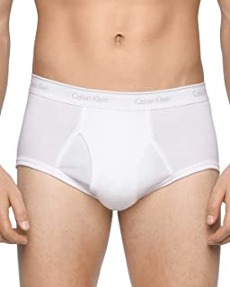 Calvin Klein Men's 4-Pack Cotton Classic Basic Brief,...