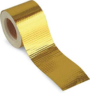 Design Engineering 010394 Reflect-A-GOLD High-Temperature Heat Reflective Adhesive Backed Roll, 1.5
