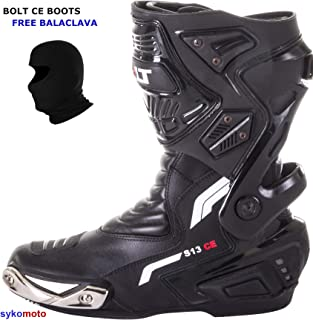 UK 8//EU 42 Botas Bolt R36 Aprobadas CE EN13634 Media Longitud Reforzada Zapatos de Cuero de protecci/ón Cruiser Impermeables