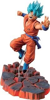 Banpresto Dragon Ball Z 3.9-Inch Super Saiyan God SS Son Goku Figure, Volume 1