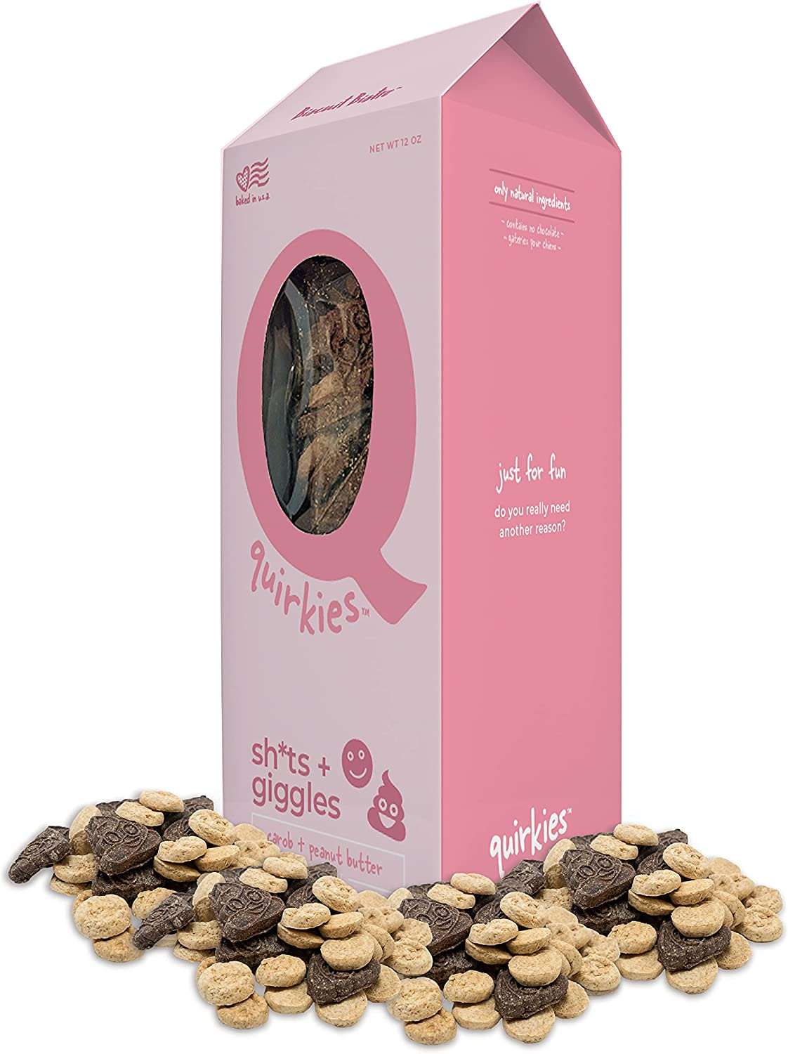 Quirkies Limited price sale Natural Dog Treats - Low price Training G Fun Sh-ts