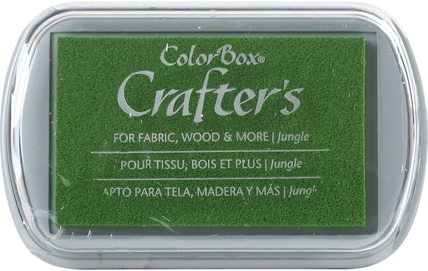 CLEARSNAP ColorBox Crafter's Full Size Inkpad, Jungle
