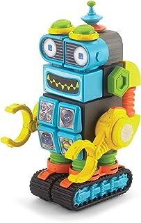 Velcro Kids VELCRO Brand BLOCKS | STEM Toy | Building Blocks, Lightweight Foam | 28 Piece, Robot, Age 3+ [Packaging May Vary]
