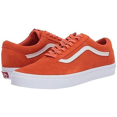 Vans Old Skooltm ((Soft Suede) Koi/True White) Skate Shoes
