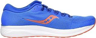 Saucony Jazz 21 Men's Running Shoes, Blue/Orange