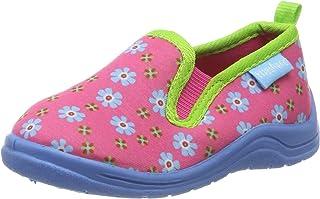 Playshoes Chaussons Floral, Pantoufles Fille