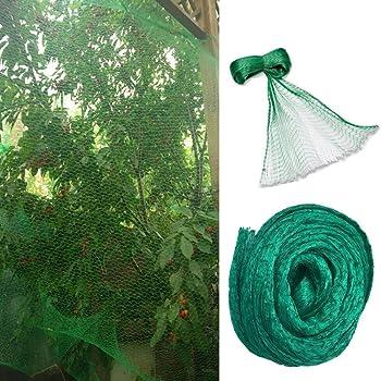 4 x 10 Meters WARKHOME Garden Plant Netting 13x 33 Feet Green Bird Net Protect Fruit Trees Gardens Against Birds Pigeon Seagull