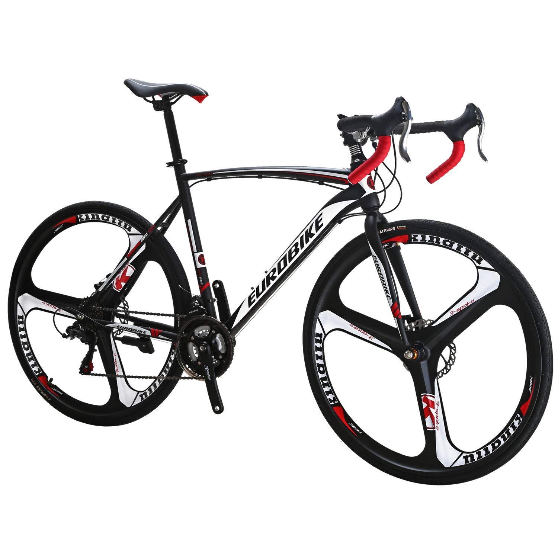 Eurobike EURXC550 - Bicicleta de Carretera (21 velocidades, 49 cm ...