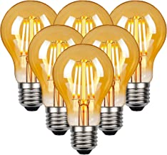 LED Vintage Edison gloeilamp, Edison E27 schroef lamp 4W (40W equivalent), Retro antieke stijl LED-lampen schroef in, 470L...