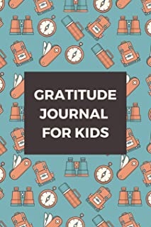 Gratitude Journal for Kids: Camping - Diary Record for Children, Boys, Girls with Daily Prompts, Thankful Thoughts Gratitude Journal for Kids (Planner Diary Notebook Happiness for Kids)