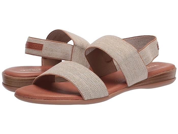 Andre Assous  Nigella (Beige Linen) Womens Sandals