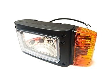 Blinker Links JCB Merlo Eurocomach Manitou Ausa mit Lampenschirm Scheinwerfer m