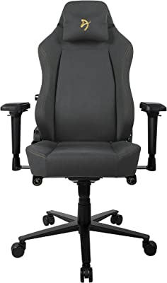 Arozzi Primo-WF-BKGD Computer Gaming/Office Chair, Gold