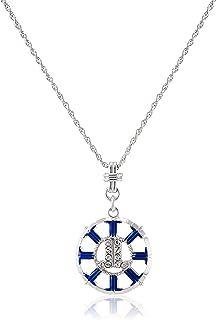 [ランバン オン ブルー] LANVIN en Bleu セサンパ コイン モチーフ ブルー ネックレス LAMN070960UB