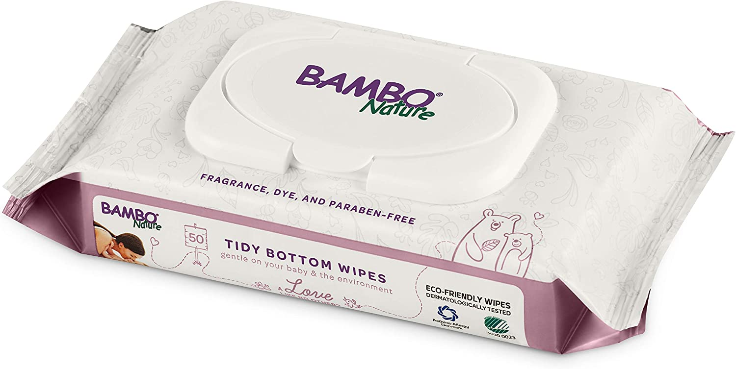 Bambo Nature Tidy Bottoms Eco-Friendly Baby Max 49% OFF 1 200 New sales Count Wipes