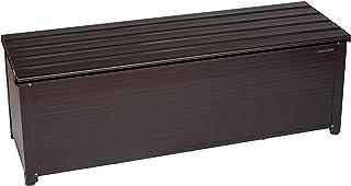 グリーンライフ(GREEN LIFE) ベンチストッカー ブラウン 奥行45×高さ48.5×幅144cm アルミ 長尺物収納 ABS-144N
