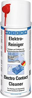 WEICON Electro Contact Cleaner 400ml Spray Contact Spray for Electronic Components Dissolves Corrosion Removes Dust and Di...