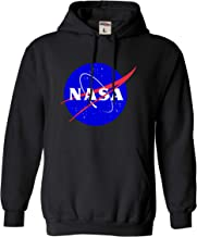 Go All Out Adult Blue NASA Logo Sweatshirt Hoodie