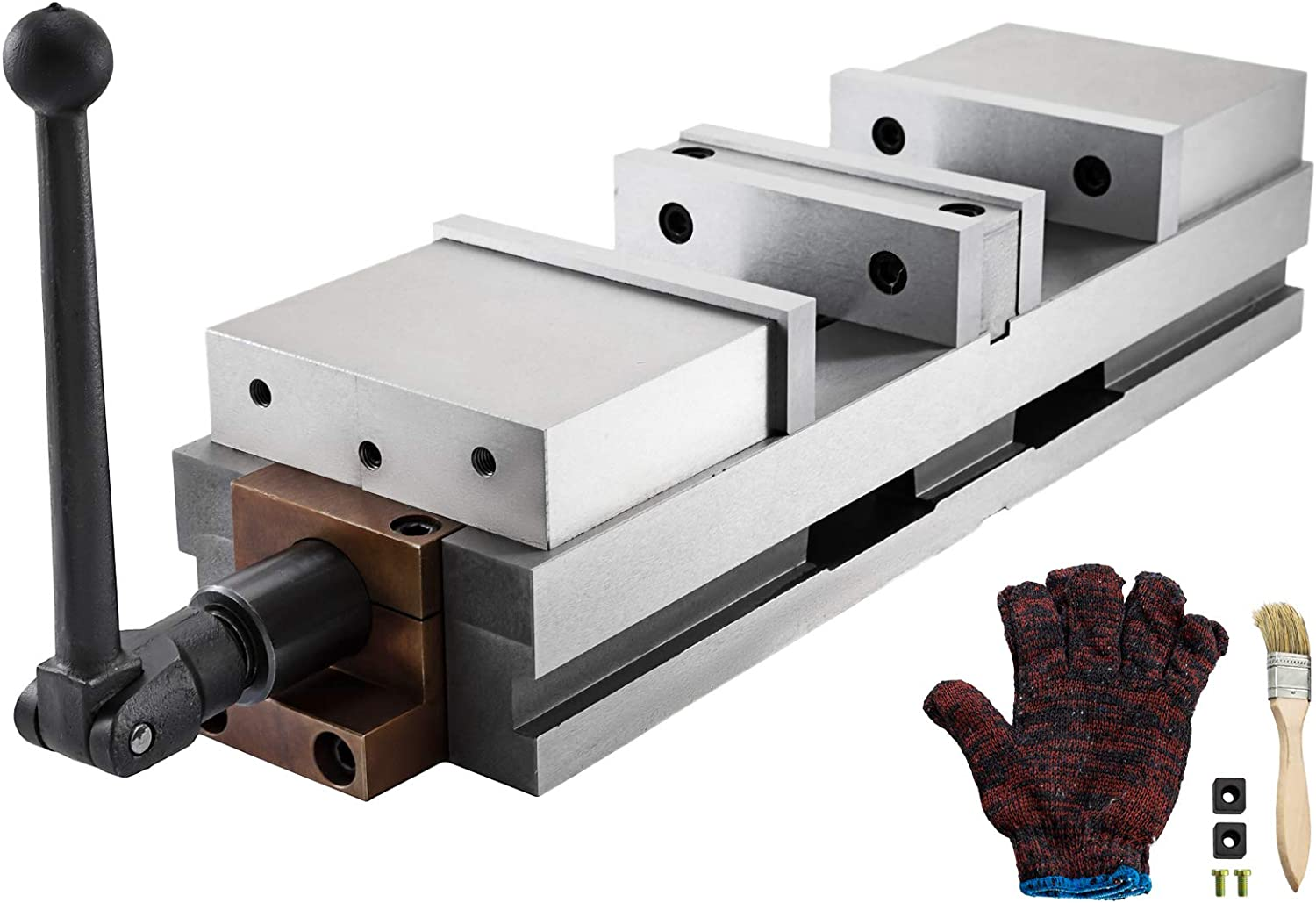 Mophorn 6 sale inch CNC Double Vise 11.10 Machine Milling Drilling in San Jose Mall