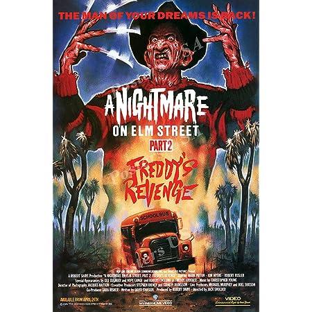 A Nightmare On Elm Street Classic Horror Movie Print Art Silk Poster
