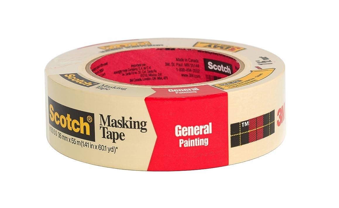 Scotch Masking Tape, 3/4 x 1000 Inch (185)