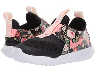 Nike Kids Flex Runner (Infant/Toddler) (Black/Pink Tint) Girls Shoes